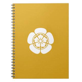Oda melon spiral notebook