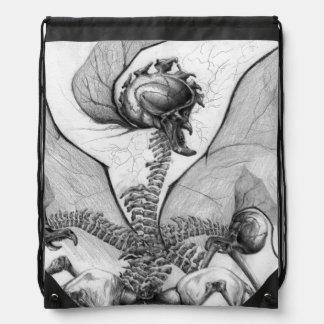 Odd Bone Fellow Horror Monster Art Backpack