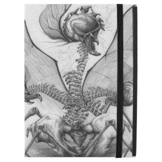 Odd Bone Fellow Skeletal Horror Winged Monster Art