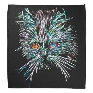 Odd-Eyed Glowing Cat Bandana