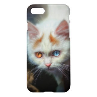 Odd-Eyed Persian Kitten iPhone 7 Case