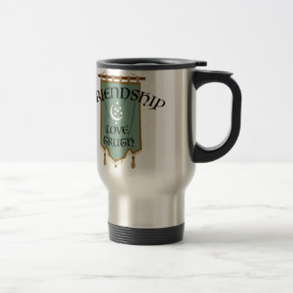 Odd Fellow Moon Banner Travel Mug
