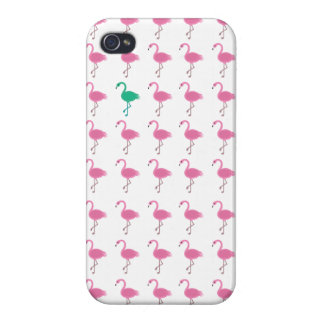 odd flamingo iphone 4 glossy iPhone 4 covers