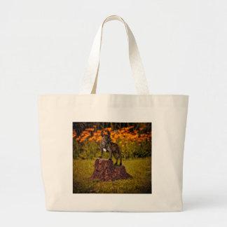 Odd friends large tote bag