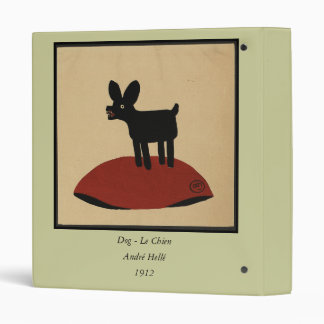 Odd Funny Looking Dog - Colourful Book 3 Ring Binders
