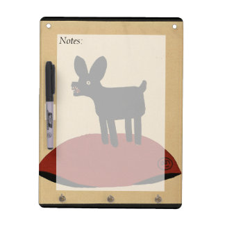 Odd Funny Looking Dog - Colourful Book Illustratio Dry-Erase Whiteboards