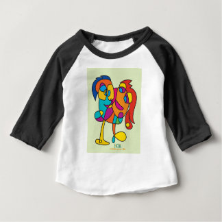 odd happy creatures colorful illustration noa isra baby T-Shirt