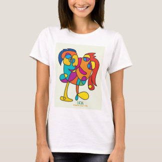 odd happy creatures colorful illustration noa isra T-Shirt