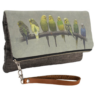Odd One Out Clutch Bag