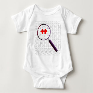 Odd Piece Magnifying Glass Baby Bodysuit