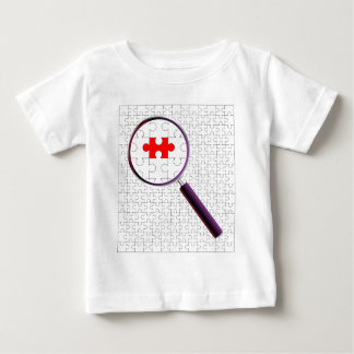 Odd Piece Magnifying Glass Baby T-Shirt