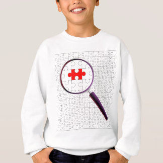 Odd Piece Magnifying Glass Sweatshirt