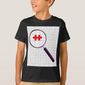 Odd Piece Magnifying Glass T-Shirt