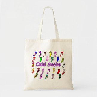 Odd Socks Grocery Bag