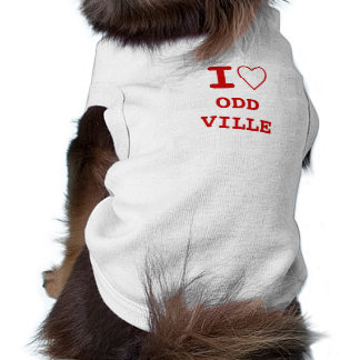 ODD VILLE I heart (love) Pet Clothing