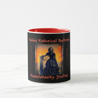 Oddie's Historical Features - Black Widow Mug