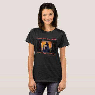 Oddie's Historical Features - Black Widow T-Shirt