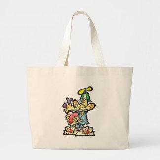 oddley-bodley tote bag