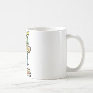 oddley-bodley basic white mug