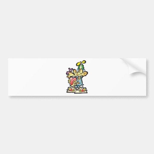 oddley-bodley bumper sticker