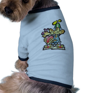 oddley-bodley dog t-shirt