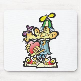 oddley-bodley mouse pad