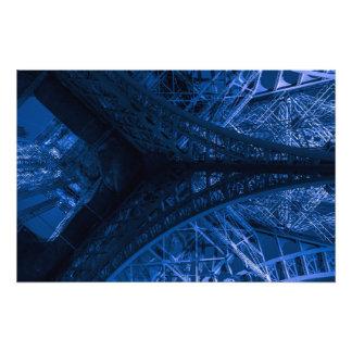Ode à Eiffel #10 / Blue Photographic Print
