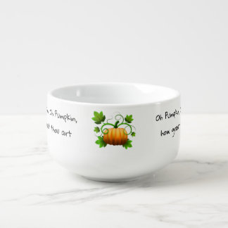 Ode to a Pumpkin Soup Mug