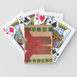 'Ode to Bakersfield playing cards