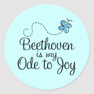 Ode To Joy Beethoven Sticker
