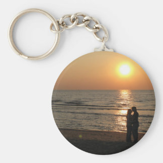 Ode to lovers basic round button keychain