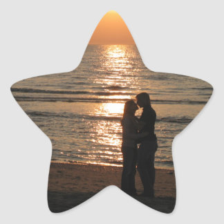 Ode to lovers star sticker