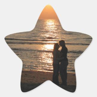 Ode to lovers star sticker