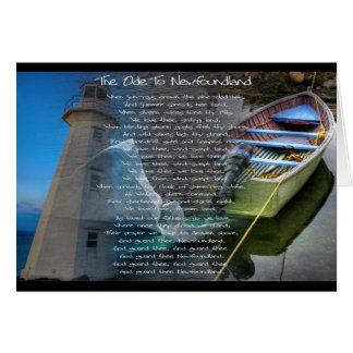 Ode to Newfoundland Card