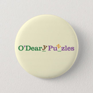 O'Deary Puzzles 2 Inch Round Button
