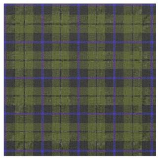odee army green blue stripe plaid print2 fabric