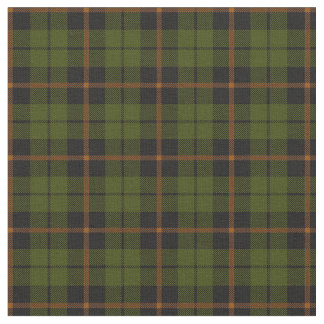 odee army green orange stripe plaid print2 fabric