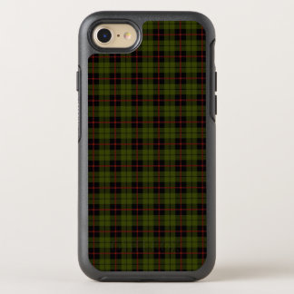 Odee army green with brick red and black stripe OtterBox symmetry iPhone 8/7 case