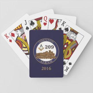 Odenton Masonic Lodge 209 Playing Cards