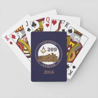 Odenton Masonic Lodge 209 Poker Deck