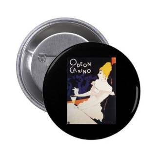Odeon Casino 2 Inch Round Button