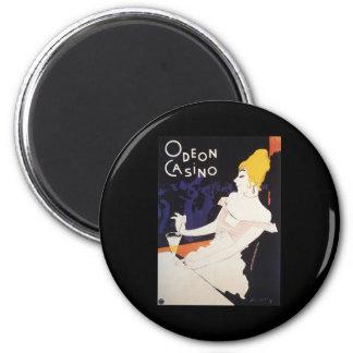 Odeon Casino 2 Inch Round Magnet
