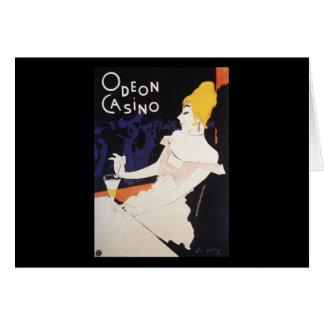 Odeon Casino Greeting Card