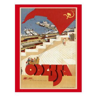 Odessa, Odesa, Ukraine Vintage Travel Postcard