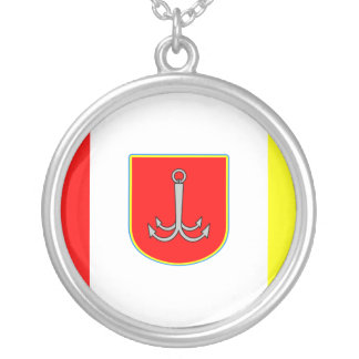 Odessa, Ukraine, Ukraine flag Silver Plated Necklace