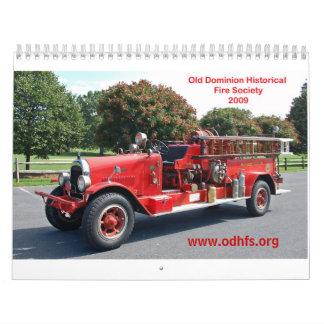ODHFS 2009 - Single Pic per Month Wall Calendars
