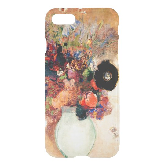 Odilon Redon - Black Poppy iPhone 7 Case