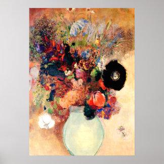 Odilon Redon - Black Poppy Poster