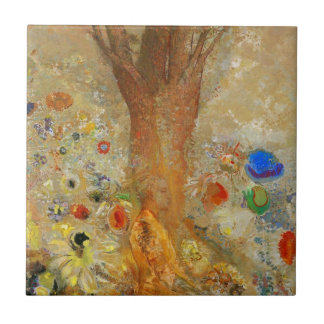 Odilon Redon Buddha In His Youth Tile