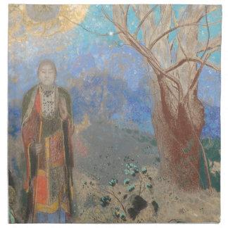 Odilon Redon: Le Bouddha, The Buddha Printed Napkins